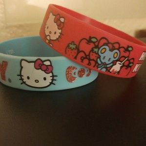 Hello Kitty Bracelet Bundle! 💋